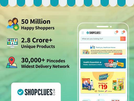 ShopClues: Online Shopping App 3.6.3 screenshots 1