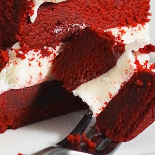 Kara's Perfect Red Velvet Cake.