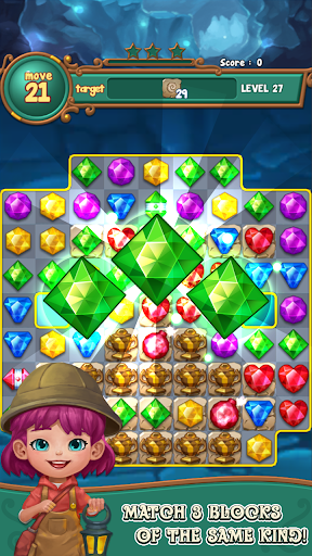 Jewels fantasy : match 3 puzzle 1.0.34 1