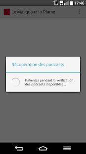 Le masque et la plume podcast - náhled