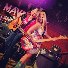 "Photo: The Maverick and a surprise bass ""player"""