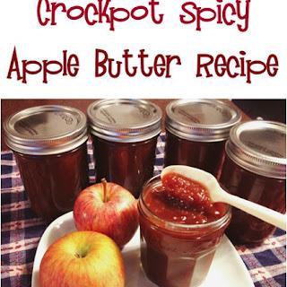 Crockpot Spicy Apple Butter