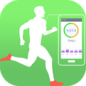 Pedometer Weight Loss Track & Steps Counter 2019 icon