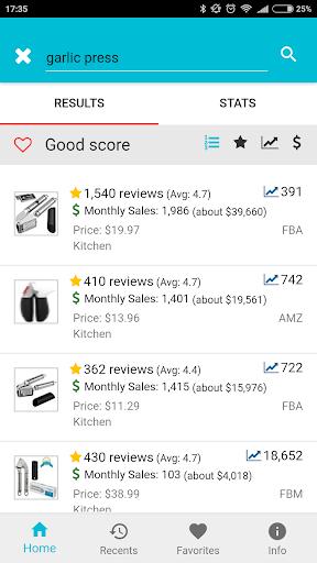 amzme - Amazon Research Tool 1.1.10 screenshots 1