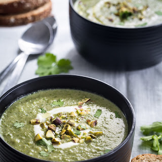 Thai Coconut Broccoli Soup.