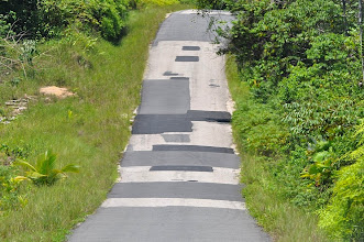 Photo: ... due to road(s) condition ...