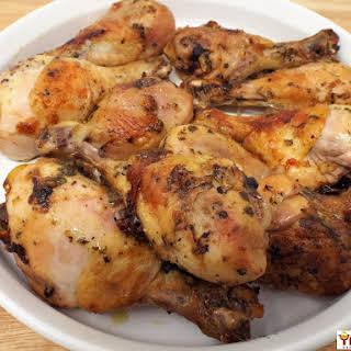 Mojo Roasted Chicken Drumsticks.