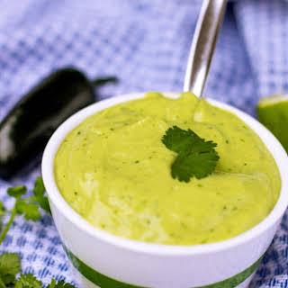 Zesty Avocado Lime Dressing.