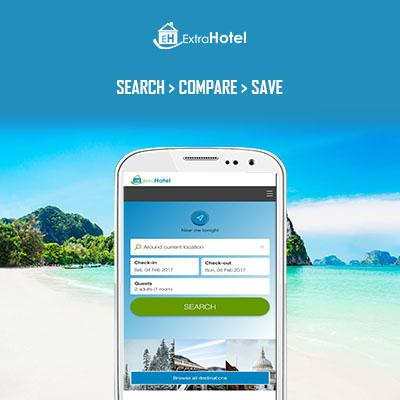 ExtraHotel - Compare Hotels- screenshot
