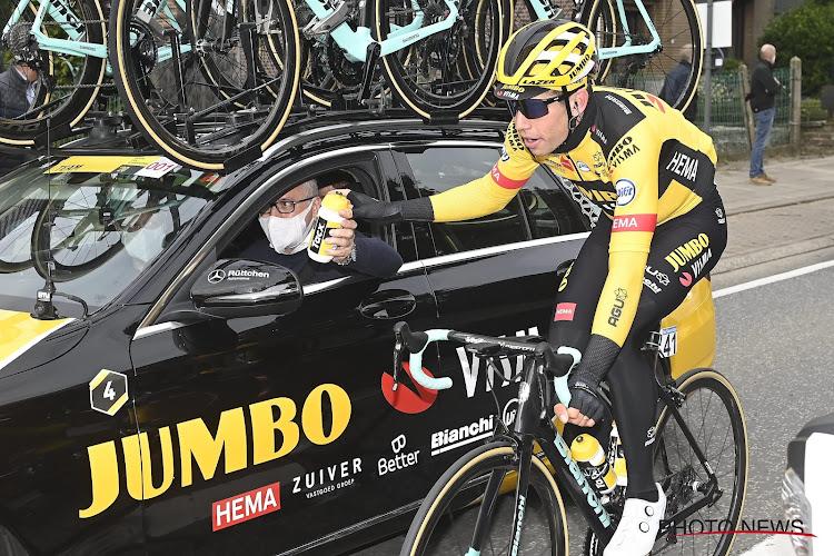 """Wout Van Aert reageert op interesse van Ineos en andere teams en drukt op het hart: """"Heb ik nooit gedaan"""""""