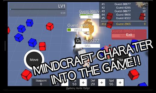 Battle of MineCraft - náhled