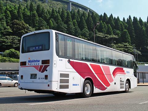 西鉄高速バス「桜島号」 9135 リア