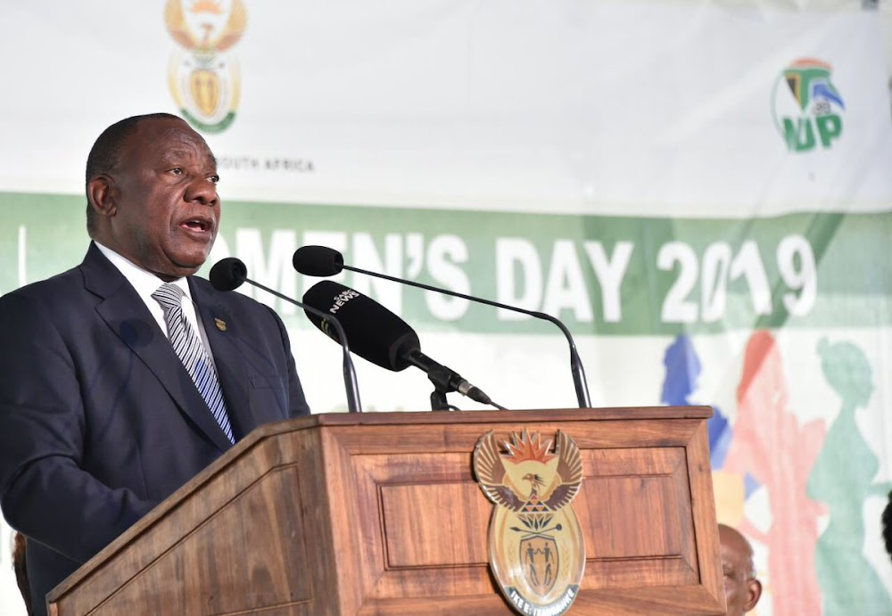 Women will get more economic empowerment, and protection, from government: Ramaphosa