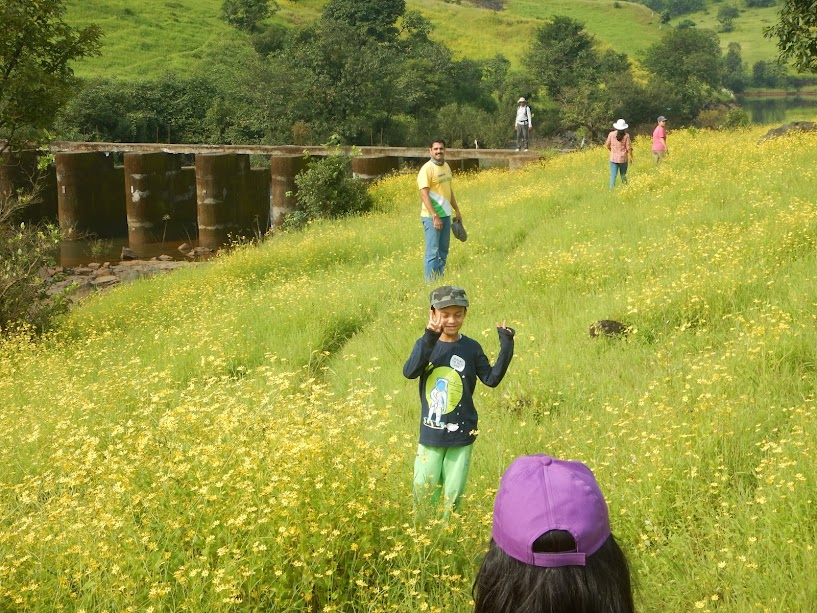 Kids and Adults having best ever experience with Nature