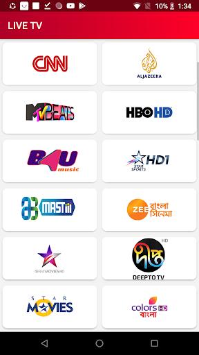 LIVE TV u2013 Free Sports, Live Cricket, Football & TV 1.0.0 screenshots 1