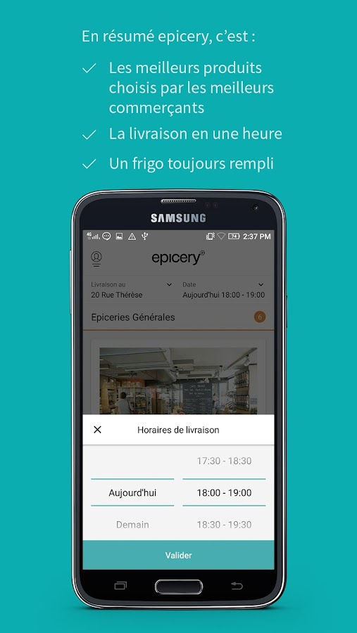 epicery – Capture d'écran