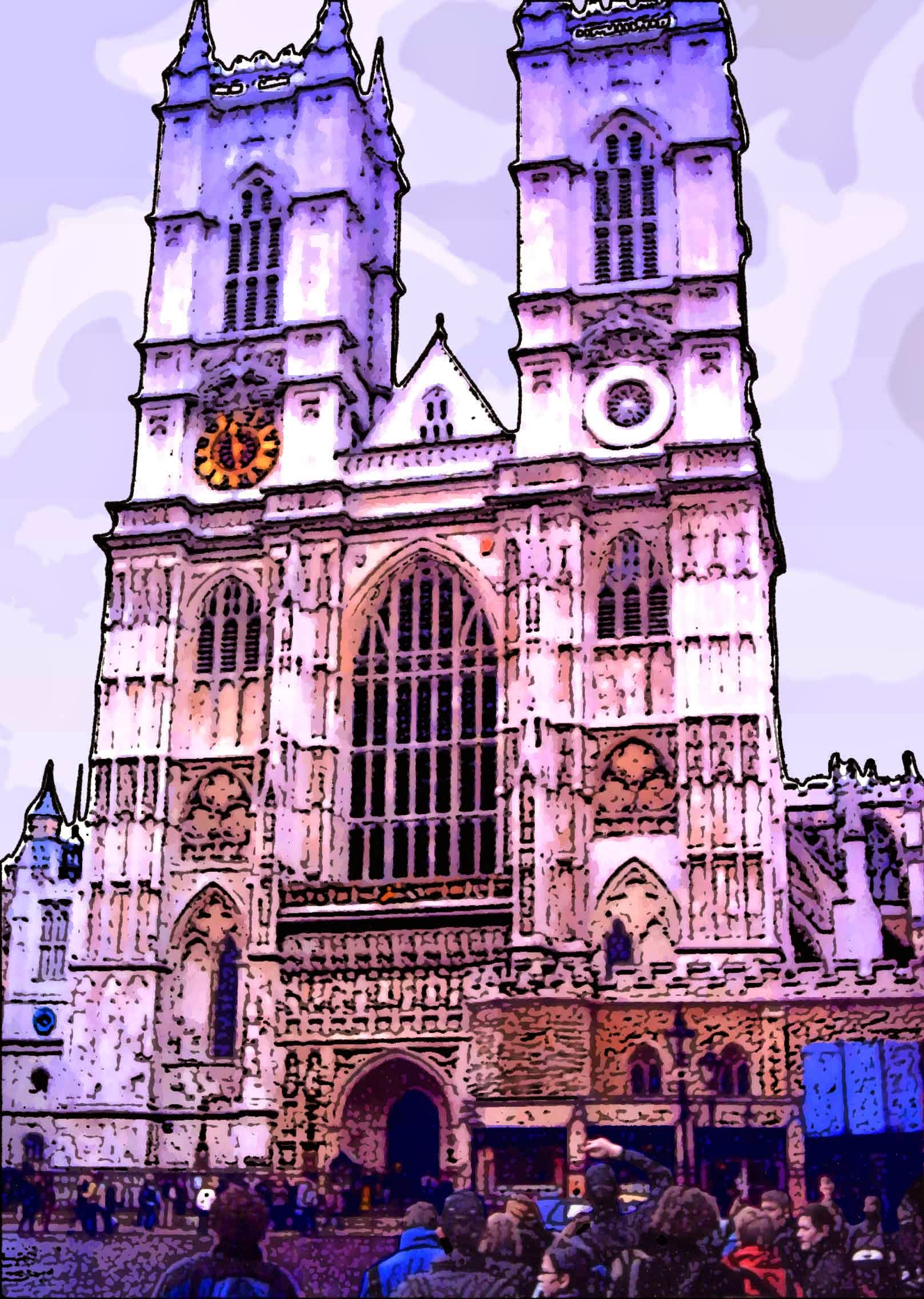 Photo: Westminster Abbey - May 2004