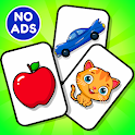Flashcards Toddler Games for 2 and 3 Year Olds👦👧 icon