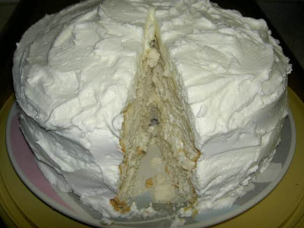 I Made This Cake Several Days Ago, And Used Sherry Symmonds (jap Member) Posted, 'yummy Vanilla Buttercream Frosting' As The Frosting On This Cake..her Frosting Is Very Delicious! But Any Frosting Can Be Used. (june, 2012)