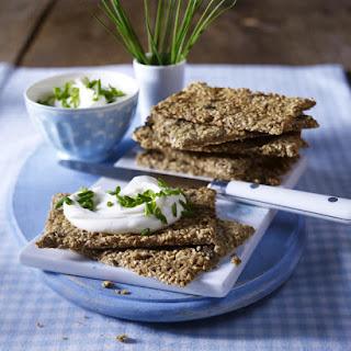 Oat and Seed Crisps.