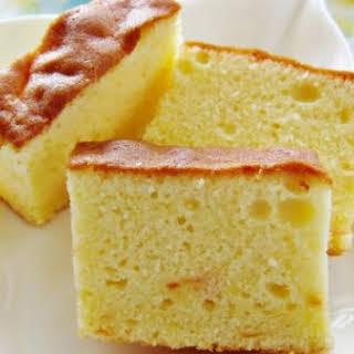 Grapefruit Butter Cake.