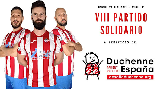 Poli Almería-Mancha Real, partido solidario a beneficio de Duchenne