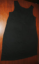 Photo: Sorry it's wrinkly... it's been in a tote. Black Maternity Dress by Liz Lange size XL. $3. Looks faded from Camera Flash but actually I don't think I ever wore it because it ended up being too small once I got truly pregnant :)