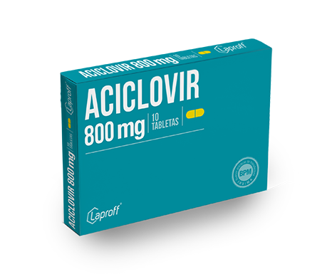 Aciclovir 800mg Blister