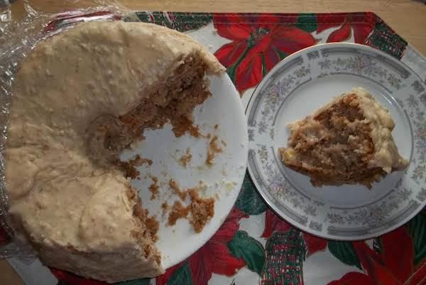 Fresh Apple Cake With Praline Icing (sallye)