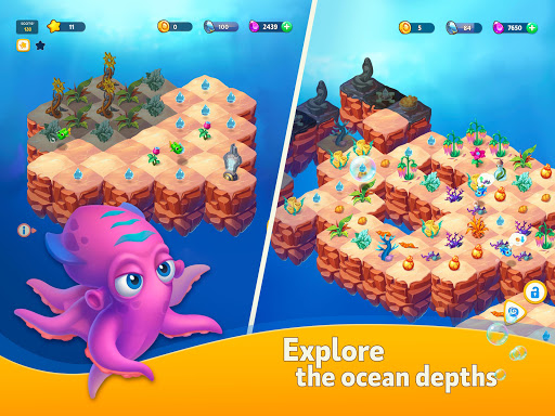 Sea Merge! 1.6.1 screenshots 8