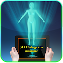 Camera 3D Hologram simulator icon