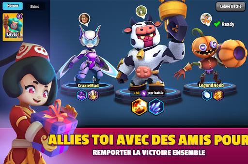 Code Triche Heroes Strike - 3v3Moba & bataille royale APK MOD screenshots 5