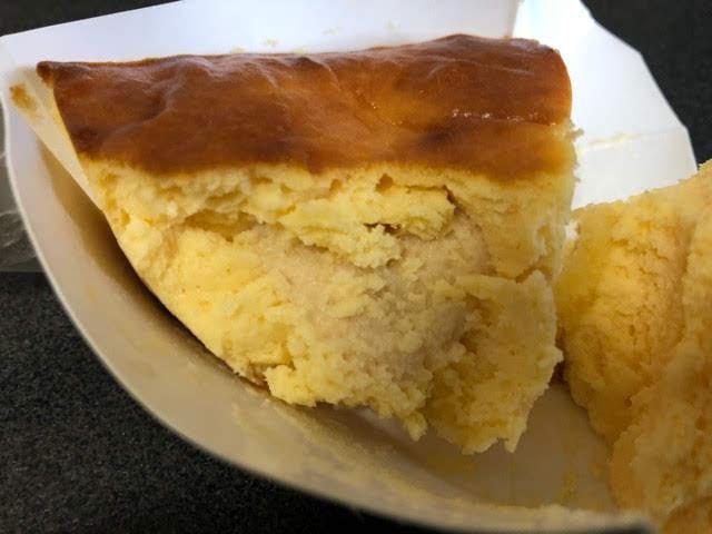 チーズフォンデュケーキのチーズクリーム