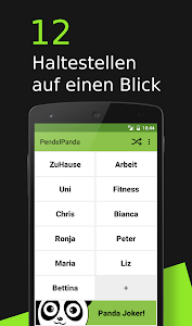 Pendel Panda Timetable screenshot 0