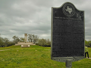Photo: Goliad grave and memorial 3/9/13