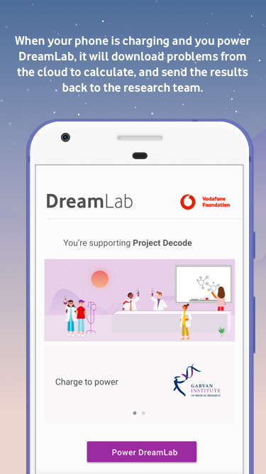 DreamLab- screenshot