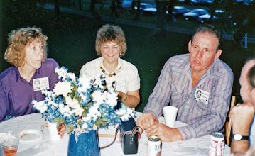 Photo: Linda (Coble) Hilton, Wilma (Bostick) Coble, Gordon Coble
