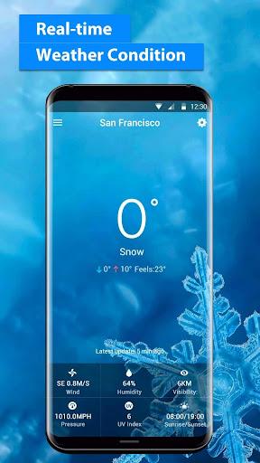 free live weather on screen 16.6.0.6243_50109 screenshots 3