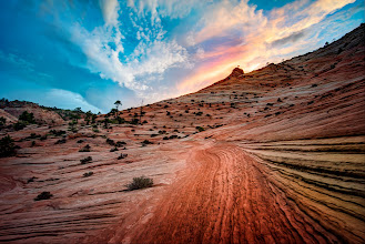 Photo: The Ancient Waves of the Desert  Utah is non-stop with the photo action -- I'm having such a wonderful time. I've taken thousands of photos and constantly on the move. And... all of this a week before Burning Man, where I'll be going photo-crazy again! :)  If you want to join me on a PhotoWalk there in the desert, be sure to look HERE for details: http://goo.gl/V5EFUW -- see you soon!