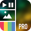 Vidstitch Pro - Video Collage icon