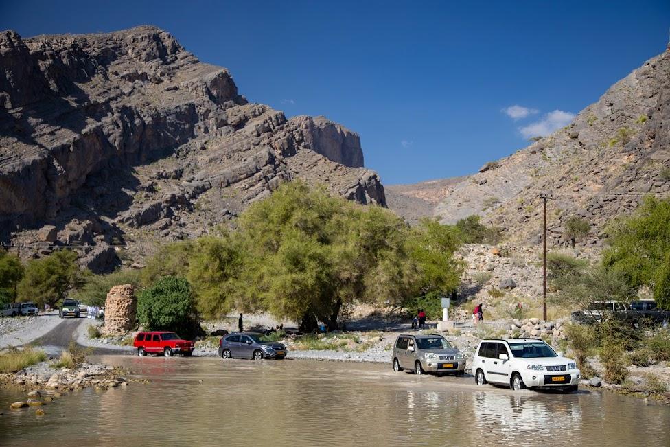 Oman, wadi