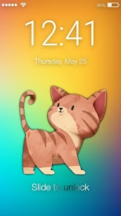 Cute Kitty Screen Lock - náhled
