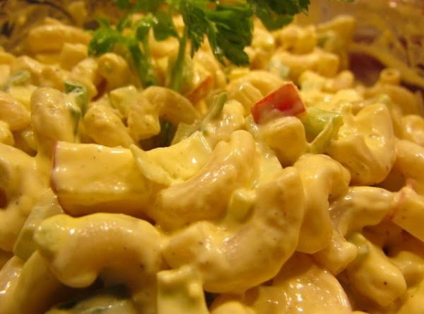 Mac Salad With Apple Recipe