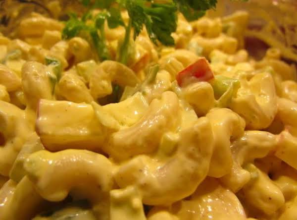 Mac Salad With Apple Recipe
