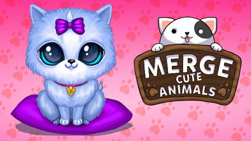 Merge Cute Animals: Cat & Dog 2.0.0 screenshots 6
