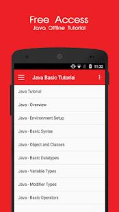 Java Offline Tutorial - náhled
