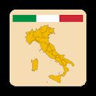 Italia regiones Quiz - banderas y capitales icon