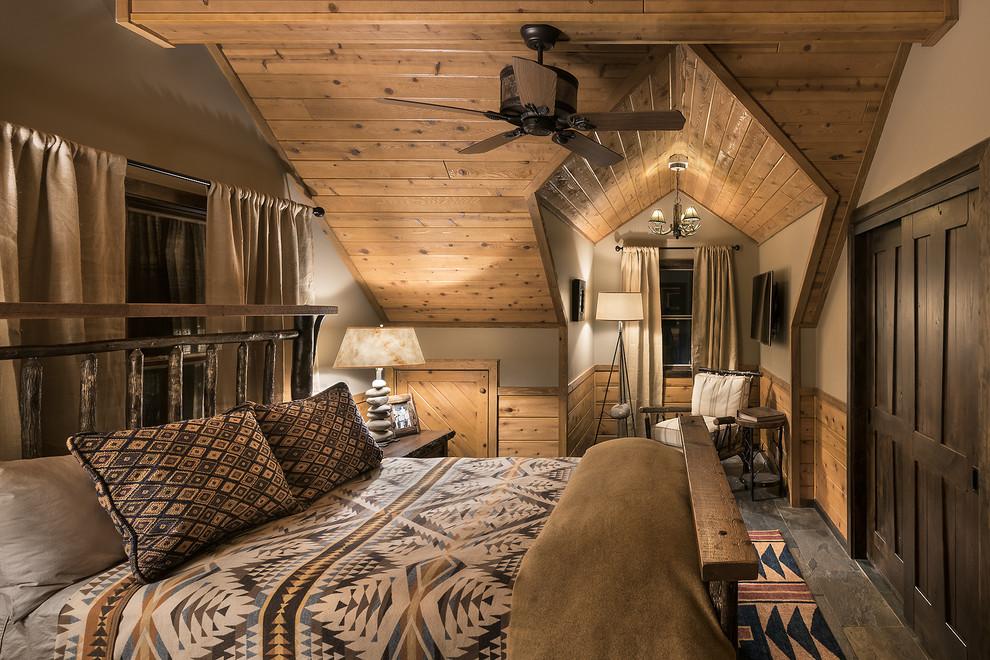 Warm Cabin Bedroom Decor Ideas