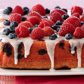 Mixed Berry Pound Cake.