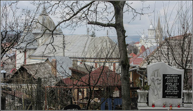 "Photo: Turda - Str. Sirenei, Nr.17 - ""Biserica Dintre Romani"" - vedere din Cimitirul Central - 2018.04.07"